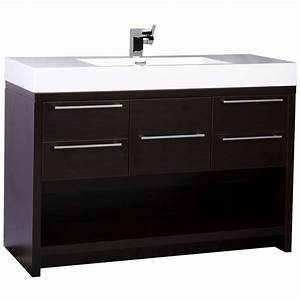 47quot modern bathroom vanity set espresso finish tn l1200 wg With where to buy a bathroom vanity