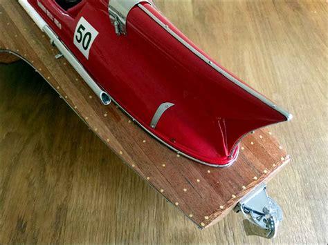 Ferrari hydroplane speed boat model dimension: Hydroplane Model Boat