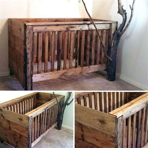 hanging bunk beds free plans at rustic baby crib camo rustic baby