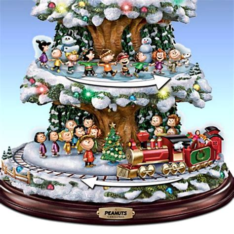 christmas tabletop musical rotating christmas tree decoration musical carousels sculptures carosta