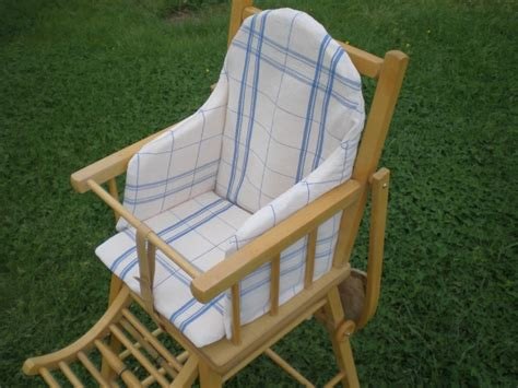 housse de chaise haute housse de coussin pour chaise haute photo de enfants textile le torchon en cavale