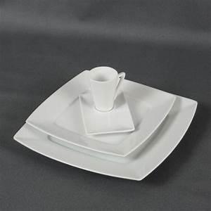Assiette Blanche Carrée : votre location d 39 assiettes et de tasses pr cey un air ~ Teatrodelosmanantiales.com Idées de Décoration