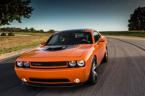 2018 Dodge Challenger Shaker Front View On Track Photo 8