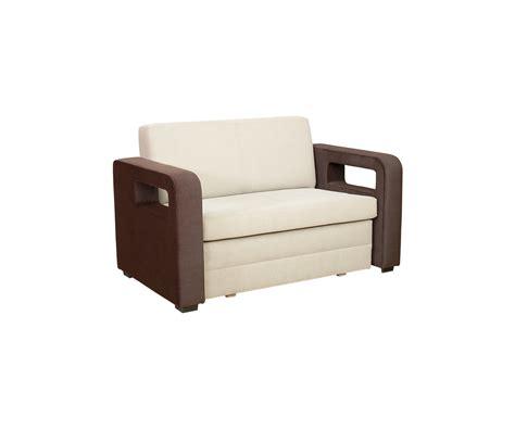 sofa 2 sitzer mit schlaffunktion 2 sitzer sofa karmen mit schlaffunktion stoff beige braun
