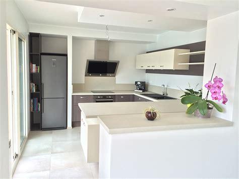 muret de cuisine aménagement de cuisines lb home style lucille beaudet