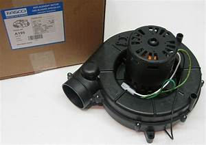 Fasco A195 Furnace Draft Inducer Blower Motor Fits Trane