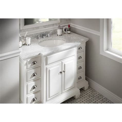 Allen And Roth Bathroom Vanity Tops by Shop Allen Roth Vanover White Undermount Single Sink