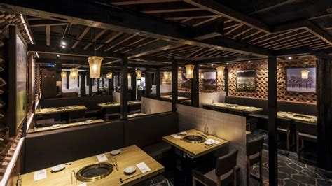 newly opened kagura  elements mall japanese style korean barbecue hits  spot south