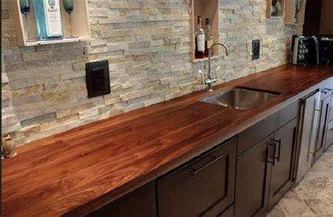 kitchen countertop    butcher block countertop