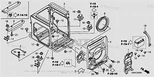 Honda Generator Parts Eu6500is An Vin  Easj