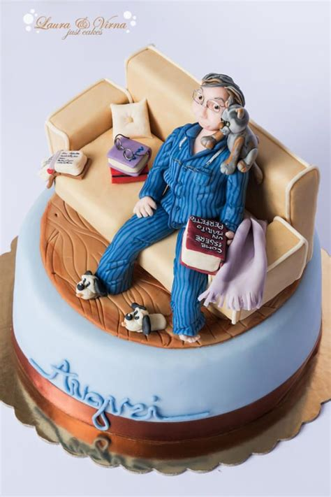 Intellectual Couch Potato Cake  Cakes & Cake Decorating