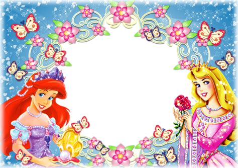 princess blue kids transparent frame  images happy