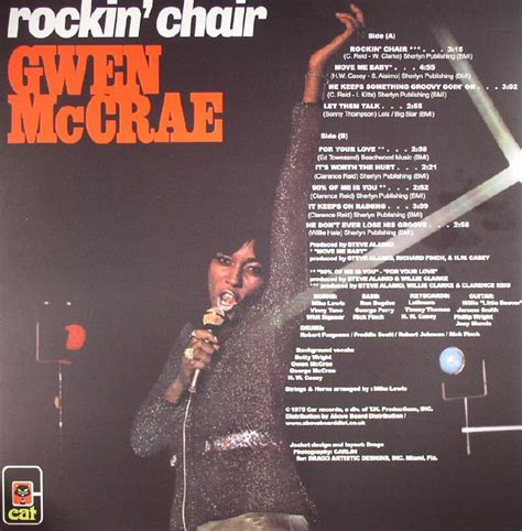 gwen mccrae rockin chair original version gwen mccrae rockin chair vinyl at juno records
