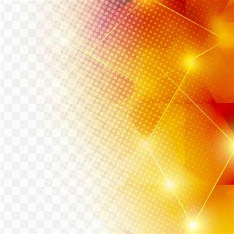 orange geometric background  halftone dots  vector
