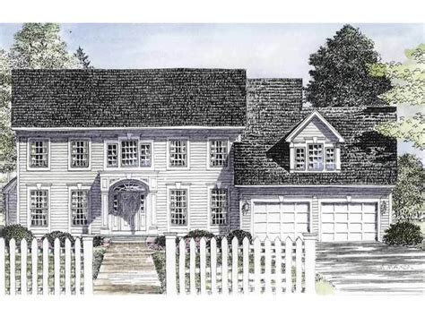 center colonial house plans traditional center colonial 19580jf architectural