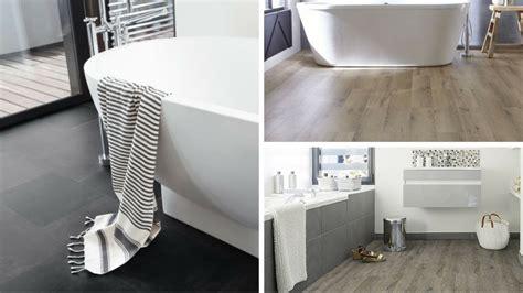 revetement sol pvc salle de bain comment choisir le sol vinyle ou lino pour sa salle de bain