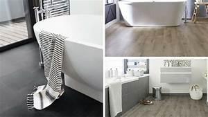 quel lino ou sol vinyle choisir pour sa salle de bains With salle de bain en pvc