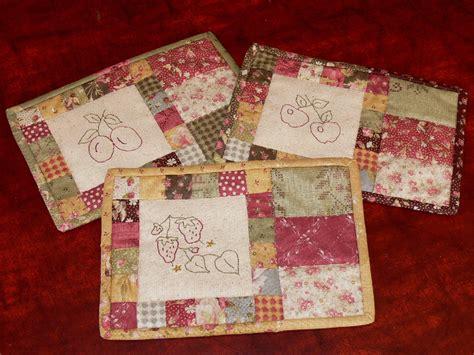 mug rug patterns val laird designs journey of a stitcher free pattern