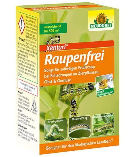 Buchsbaum Raupe Spritzmittel by Neudorff 174 Raupenfrei Xentari 174 Baldur Garten