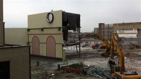 port plaza mall demolition green bay youtube