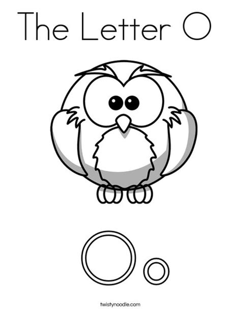 the letter o 2 the letter o coloring page twisty noodle
