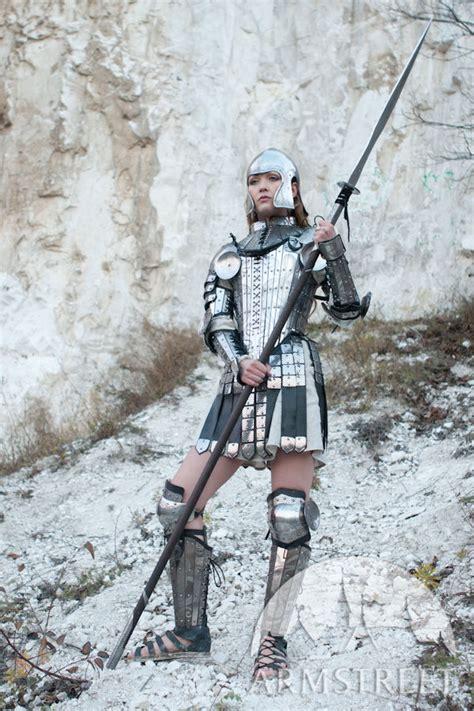 fantasy stainless full womens lady warrior armor set
