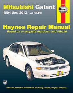 Mitsubishi Galant Haynes Repair Manual  1994-2012