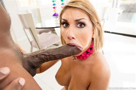 August Ames Rides A Monster Dong