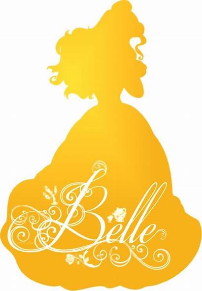 Disney Silhouette Belle Princess Princesses Tattoo Background