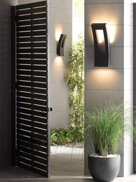 modern outdoor lighting sconces  fun evenings