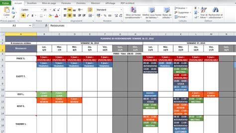 modèle planning congés excel gratuit nouvelle version de netside planning disponible version 1 70