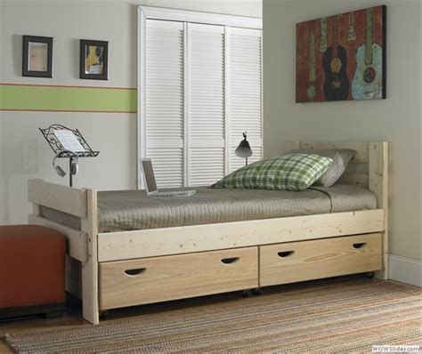 Bed With Drawers by Captains Bed With Storage Drawers From 1800bunkbed
