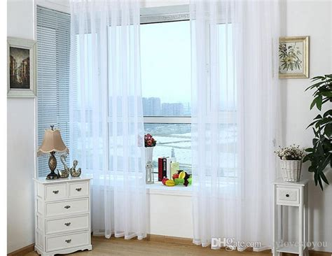 Ready Made White Sheer Curtains For Living Room Voile Tulle Curtain For Bedroom Of Windows White Fly Curtains For Doors Small Shower Stall Peri Yellow Nursery Filet Crochet Disney Cars Curtain Door Ikea Shop Uk