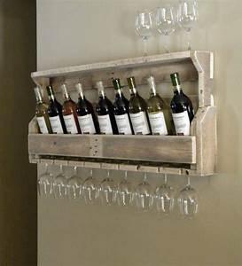 Bar de pallet - Adega de vinho e outras ideias para seu