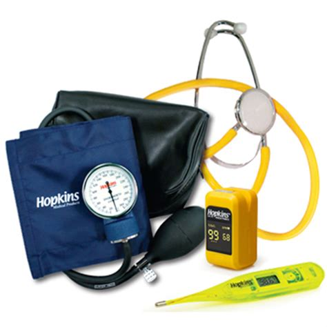 Single Patient Vital Signs Kit With Pulse Oximeter