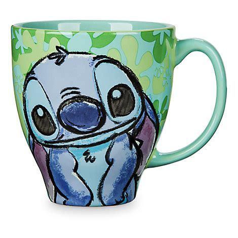 wdw store disney coffee cup mug stitch pattern mug