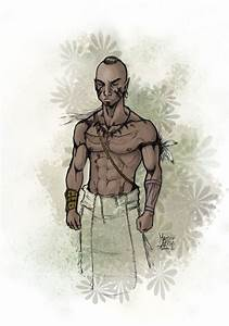 Mohican Warrior color by Kinkajou88 on DeviantArt