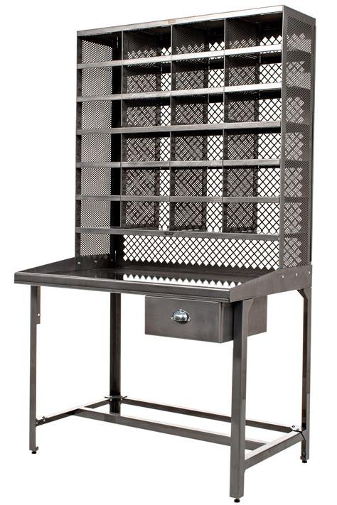 casiers de rangement bureau bureau casier de tri meuble de rangement acier brut