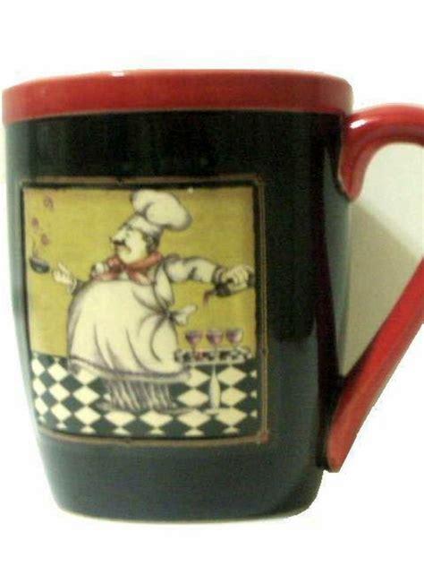 Fat French Chef Coffee Mug Cup
