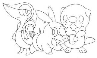 All Starter Pokemon Coloring Pages