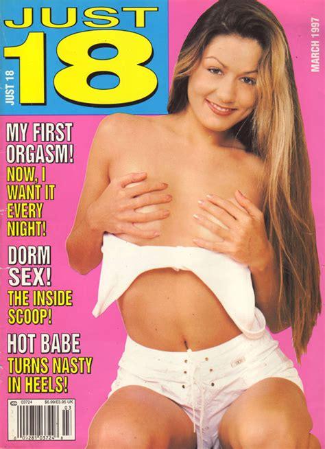 just 18 march 1997 magazine back issue just 18 wonderclub