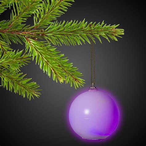 led christmas ornament light up novelties