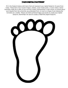 Digital Footprint | My Classroom | Digital citizenship