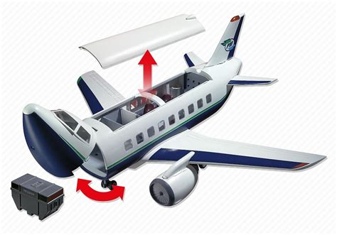 Playmobil Cargo And Passenger Aircraft  From Playmobil