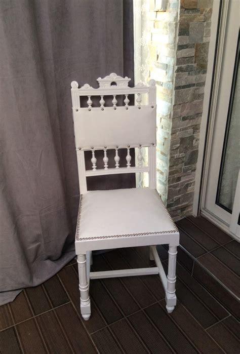 chaise cuir blanc chaise simili cuir blanc ukbix