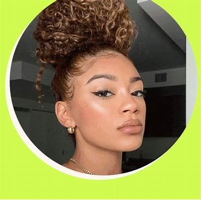 Curly Easy Hairstyles Tutorials Bun Updo Simple
