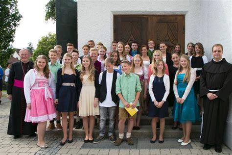 firmung  fotogalerie pfarrgemeinde landsberied