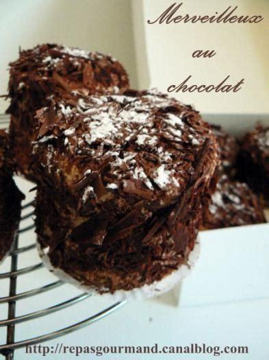 recette merveilleux au chocolat
