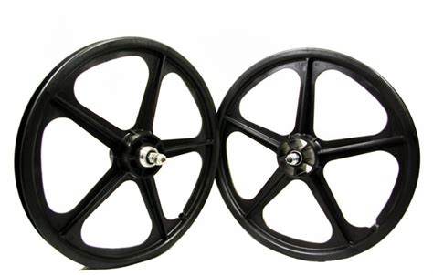 bmx rad 20 zoll 20 customs bmx oldschool wheelset mag rims bike cult wheel skyway tuff ii ebay