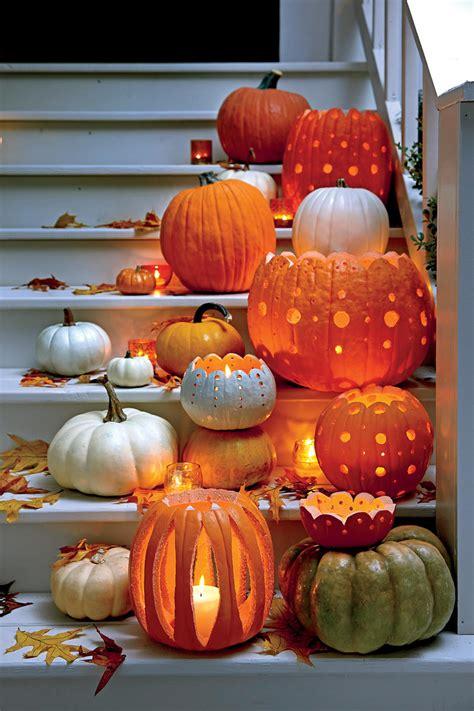 carving small pumpkin ideas 33 halloween pumpkin carving ideas southern living